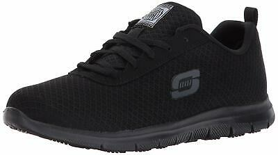 Skechers for Work Women's Ghenter Bronaugh Work and Food, Black, Size 9.5 uJyX