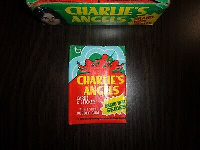 1977 Topps Charlies Angels Series 4 Wax Pack From BBCE Box