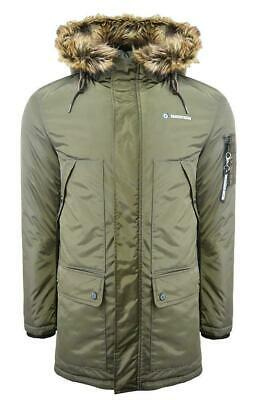 Mens Lambretta Parka Hooded Scooter Carnaby MOD SKA Fishtail Coat Sizes S to 4XL