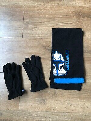 Star Wars Scarf And Gloves Set