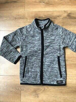 George Grey Fleck Full Zip Jumper Sweatshirt 8-9YRS