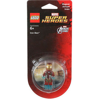 NEW Lego Marvel Super Heroes Iron Man Magnet 853457