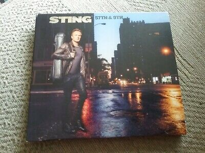 ?  sting 57th and 9th cd freepost in very good condition