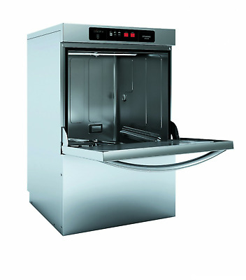 EVO-CONCEPT Glass Washer w/ Drain Pump and Detergent & Rinse for Restaurant Use