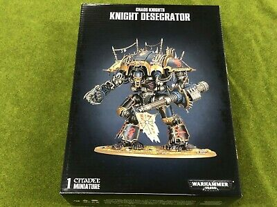 Chaos Knights CHEVALIER Desecrator Lower Leg Armour-G2145