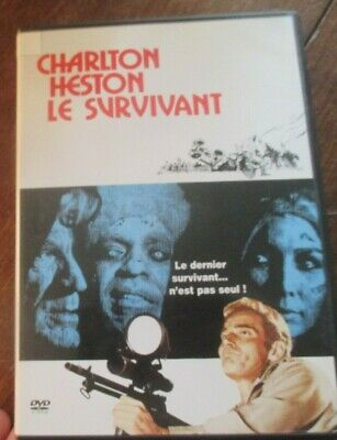 dvd charlton heston le survivant vampires zombies richard matheson