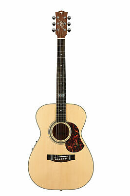 Maton EBG808TE Tommy Emmanuel Acoustic Electric Guitar w/Case - Natural Satin
