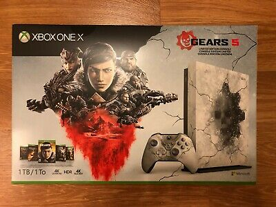 NEW & Sealed: Xbox One X 1TB Gears 5 Limited Edition Console Bundle (4K, HDR)