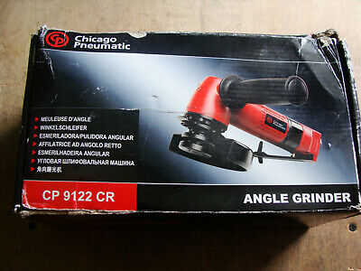 "Chicago Pneumatic CP9122CR 4.5"" Heavy Duty Air Angle Grinder"