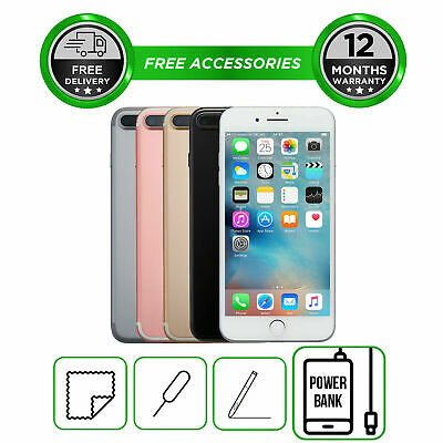 Apple iPhone 7 Plus 7+ UNLOCKED 32GB 128GB 256GB Smartphone All Colours