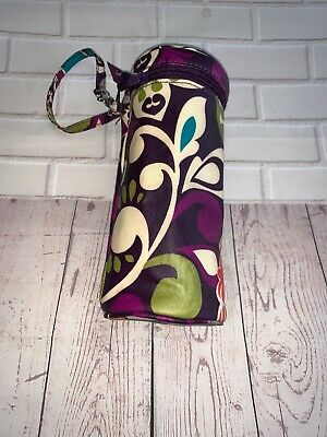 Vera Bradley Thermal Insulated Bag Can Cooler Baby Bottle Water Bottle Holder