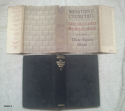 The Second World War. Volume 2. Their Finest Hour by Churchill, Winston S.