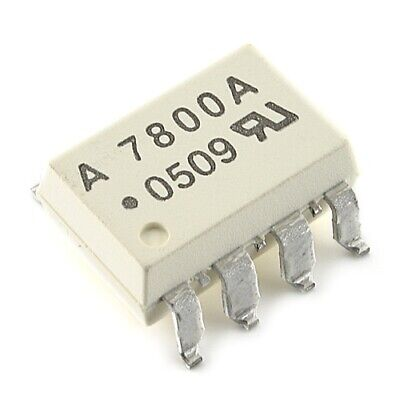 [2pcs] HCPL7800A Optocoupler SMD-DIP8 AVAGO