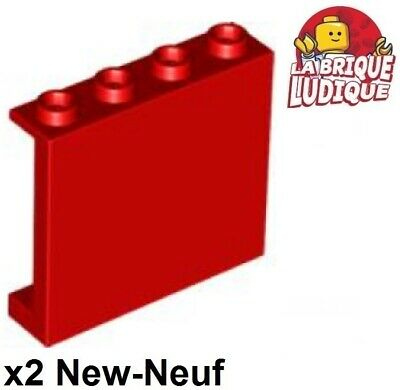 Lego 2x Panel Panneau 1x2x3 Side Supports H Studs bleu f//dark blue 87544 NEUF