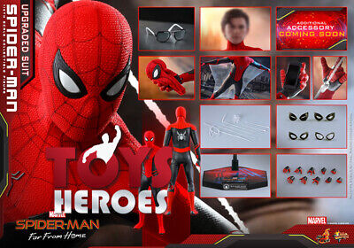 HOT TOYS MMS542 SPIDER-MAN FAR FROM HOME SPIDER-MAN UPGRADED SUIT Coupon