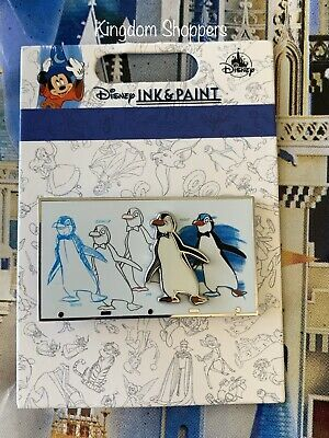 2020 Disney Parks Pin Ink & Paint Collection MARY POPPINS PENGUINS