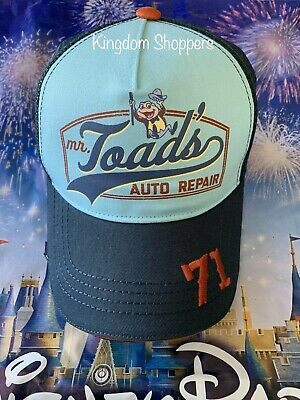 Disney World Parks 1971 Mr. Toad Auto Repair Adult Baseball Hat Cap Trucker