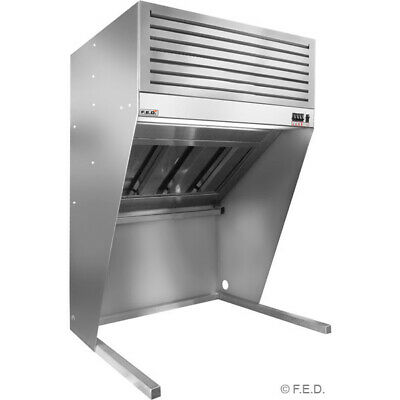 Bench Top Filtered Hood - 1500mm for Restaurant and Catering Use