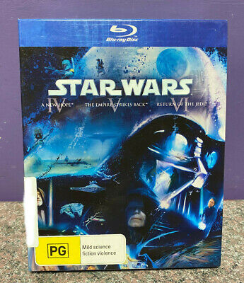 Star Wars Trilogy A New Hope/The Empire/Return Of The Jedi Blu-Ray