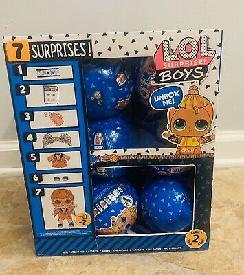 Lol Surprise Boys Series 2 - Full Case Of 12 Balls Untouched In Case