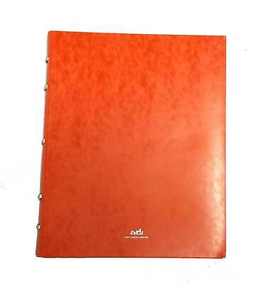 Authentic HERMES notebook large Ring note