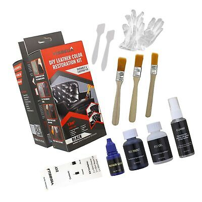 Visbella DIY Leather Color Paint and Dye Kit for Couch Sofa Car Seats Upholst...