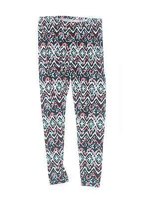 Self Esteem Girls Blue Leggings M Youth