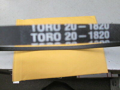 NEW GENUINE OEM TORO PART # 20-1820 V-BELT FOR TORO 824 724 /& 524 SNOWTHROWERS