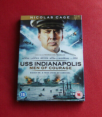 USS Indianapolis - Men of Courage - Region 2 DVD - Nicolas Cage, James Remar