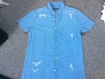 Boys Jeans And Shirt S Age 16 Approx W28 L32