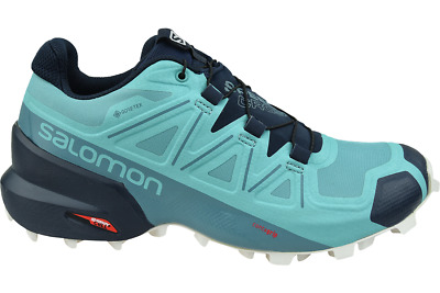 SALOMON SPEEDCROSS 5 Gtx 407946 Women's Turquoise Trail