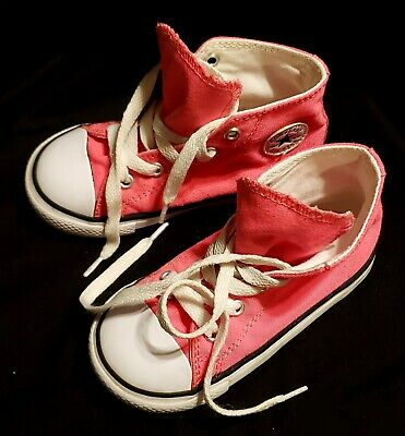 Details about Converse All Star Chuck Taylor Toddler Girls Boston Terrier Puppy Shoes~size 6 C