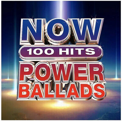 Now 100 Hits Power Ballads (6Cd Album 2019) New & Sealed