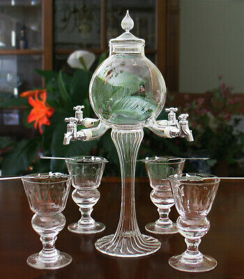 Crystal Absinthe Water Fountain Complete Set