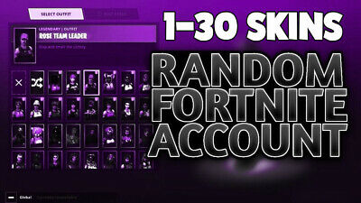 Fortnite Accounts | Pc | 1-29 Skins Random |