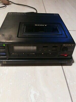 Sony Ev-C8 Video Cassette Recorder& For Parts Video Camera Recorder Ccd-M8