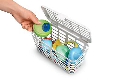 Prince Lionheart Deluxe Toddler Large Capacity White Dishwasher Basket