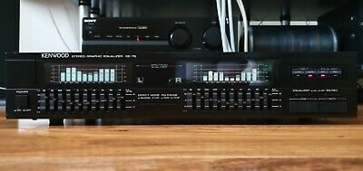 Kenwood Stereo Graphic Equalizer GE-76