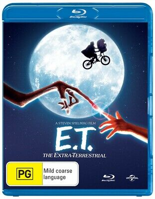 ET: The Extra Terrestrial, Blu-ray