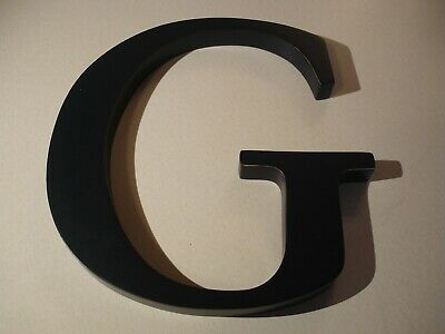 """Pottery Barn Kids Navy 8"""" Wood Wall Letter - """"G"""""""