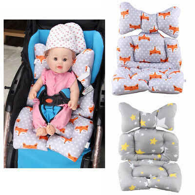 Baby Stroller Seat Liner Pram Cushion Padding Crawl Pushchair Car Seat Mat Cover