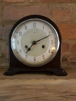 Enfield Vintage  Mantel Clock. Made in England. Working order.