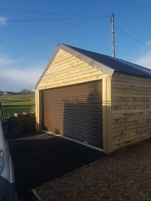 Galvanised Steel Electric Roller Shutters  - High Security!