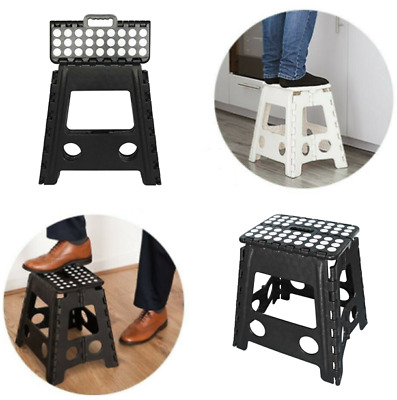 39CM Large Folding Step Stool Multi Purpose Heavy Duty Home Kitchen Foldable NEW