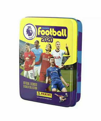 Panini Football 2020 Official Premier League Sticker Pocket Tin NEW & SEALED UK