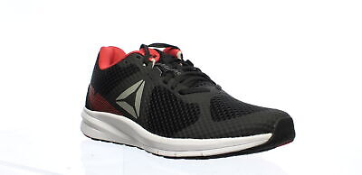 Reebok Mens Endless Road Black/Grey/Red Running Shoes Size 9