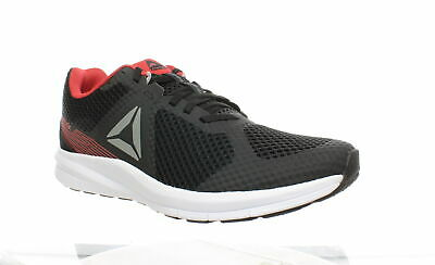 Reebok Mens Endless Road Black/Grey/Red Running Shoes Size 10