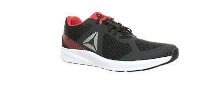 Reebok Mens Endless Road Black/Grey/Red Running Shoes Size 11