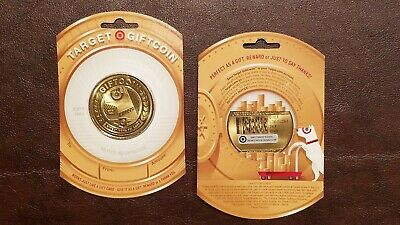 Target Gold Coin Bullseye Dog Gift Card - USA Bulls-Eye