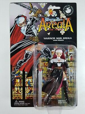 Warrior Nun Areala Shotgun Mary Black Leather Jacket Edition Figure New!